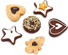 Nice purchase Artificial Cookie Fake Biscuits Simulation Realistic Food Chocolate Dessert for Decoration Display Toy Props Model Cracker