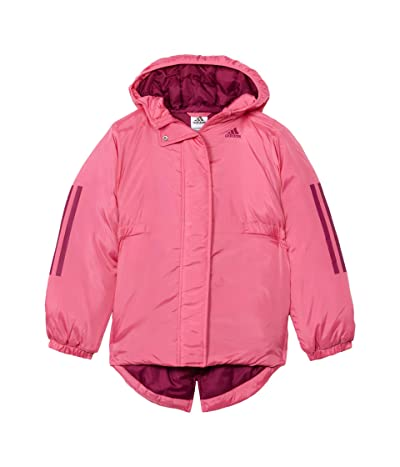 adidas Kids Insulated Jacket (Big Kids) (Pink) Girl