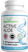 Active Aloe Colon Cleanse Capsules Aloe Vera 180 Capsules Made in The UK by Natural Answers Trusted Brand Estimated Price : £ 7,99