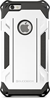 BUDDIBOX iPhone 6s Case, [Corner Series] – Heavy Duty Protection from Falls – Also Compatible with Apple iPhone 6 – [White]