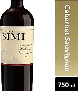 SIMI Sonoma County Cabernet Sauvignon Red Wine, 750 ml
