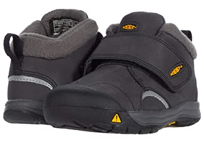 KEEN Kids Kootenay III Mid WP (Toddler) (Black/Keen Yellow) Boy