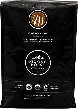 Kicking Horse Coffee, Grizzly Claw, Dark Roast, Whole Bean, 2.2 Pound - Certified Organic, Fairtrade, Kosher Coffee