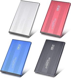 Disque Dur Externe 1to,USB3.0 SATA, Stockage HDD pour PC, Mac, Ordinateur de Bureaup, Ordinateur Portable, Wii U, Xbox (1t...
