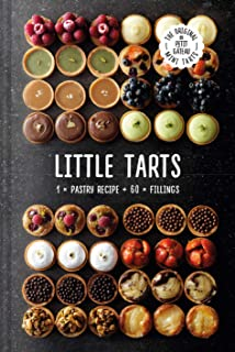 Little Tarts: 1 x pastry recipe + 60 x fillings