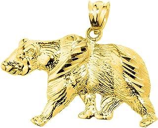 Best gold bear pendant Reviews