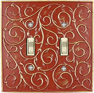 Amazoncom Red Wall Plates Wall Plates Accessories Tools
