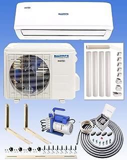 NADACS 12000 BTU Gold FIN 110 Volt WiFi Mini Split System (Heating & Cooling) with Installation Kit!
