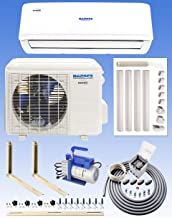 NADACS 12000 BTU Gold FIN 110 Volt WiFi Mini Split System (Heating & Cooling) with Installation Kit!