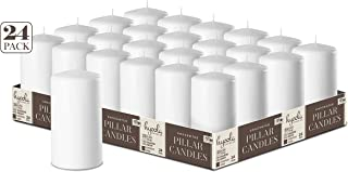 Best plain pillar candles Reviews