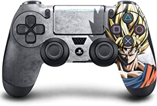 PS4 DualShock Wireless Controller Pro Console - Newest PlayStation4 Controller with Soft Grip & Exclusive Customized Version Skin (PS4-DragonballZ)