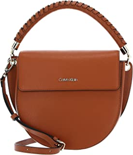 Calvin Klein Saddle Bag M Cognac