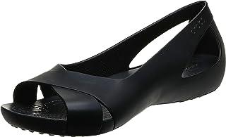 حذاء نسائي مسطح من كروكس   حذاء نسائي مسطح   حذاء عمل للنساء