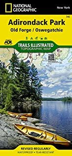 Old Forge, Oswegatchie: Adirondack Park (National Geographic Trails Illustrated Map (745))