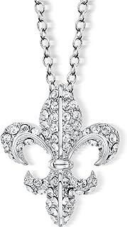 Giglio pendente di cristallo con Cristalli Swarovski da CRYSTALP catena collana Tal siman Path Finder catena collana ciond...