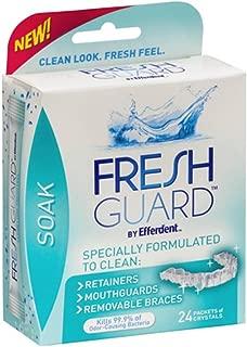Efferdent Guard Crystals Size 24ct Efferdent Guard Crystals Fresh 24ct
