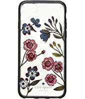 Kate Spade New York - Jeweled Meadow Clear Phone Case for iPhone 8