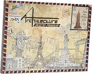 بازل ثلاثي الابعاد شكل مبنى امباير ستيت للاطفال من زي ايندستري تويز - 37 قطعة