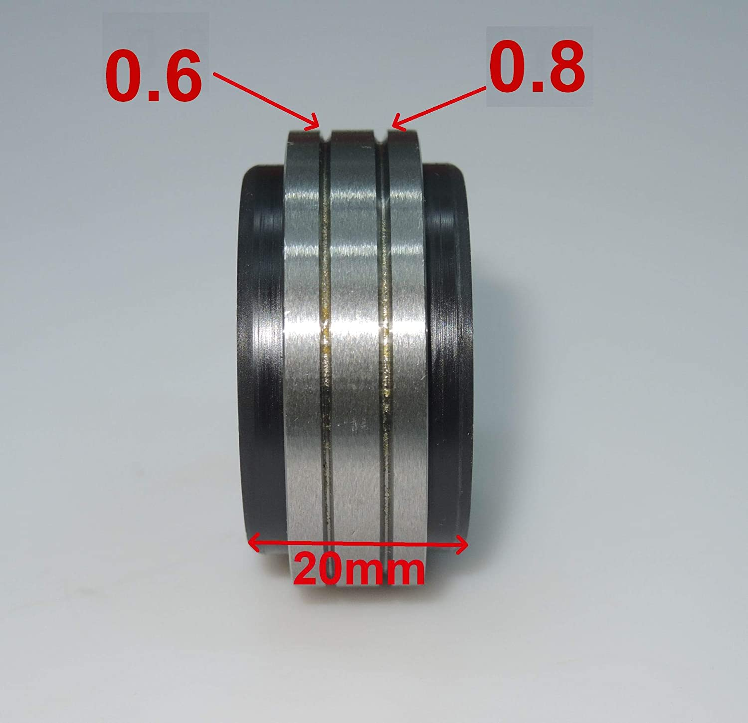V-Groove .023-.030 CHNsalescom Mig Welder Wire Feed Drive Roller Roll Parts Diameter OD:40mm ID:10mm WI:20mm