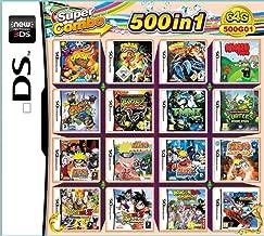 KUAILE 500 en 1 Tarjeta de Consola de Video Juego Cartucho para Nintendo NDS NDSL NDSI 2DS 3DS