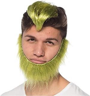 Green Guy Wig and Beard