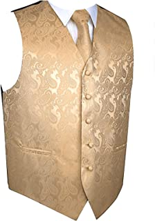 Best mens rose gold vest and tie Reviews