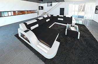 Amazon.es: Sofa Piel Blanco - Juegos de sofás / Salón: Hogar ...