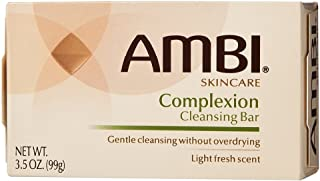 Ambi Complexion Cleansing Bar Soap, 3.5 oz (Pack of 12)