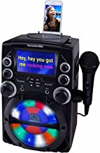 Karaoke USA GQ740 CD+G Karaoke System with 4.3