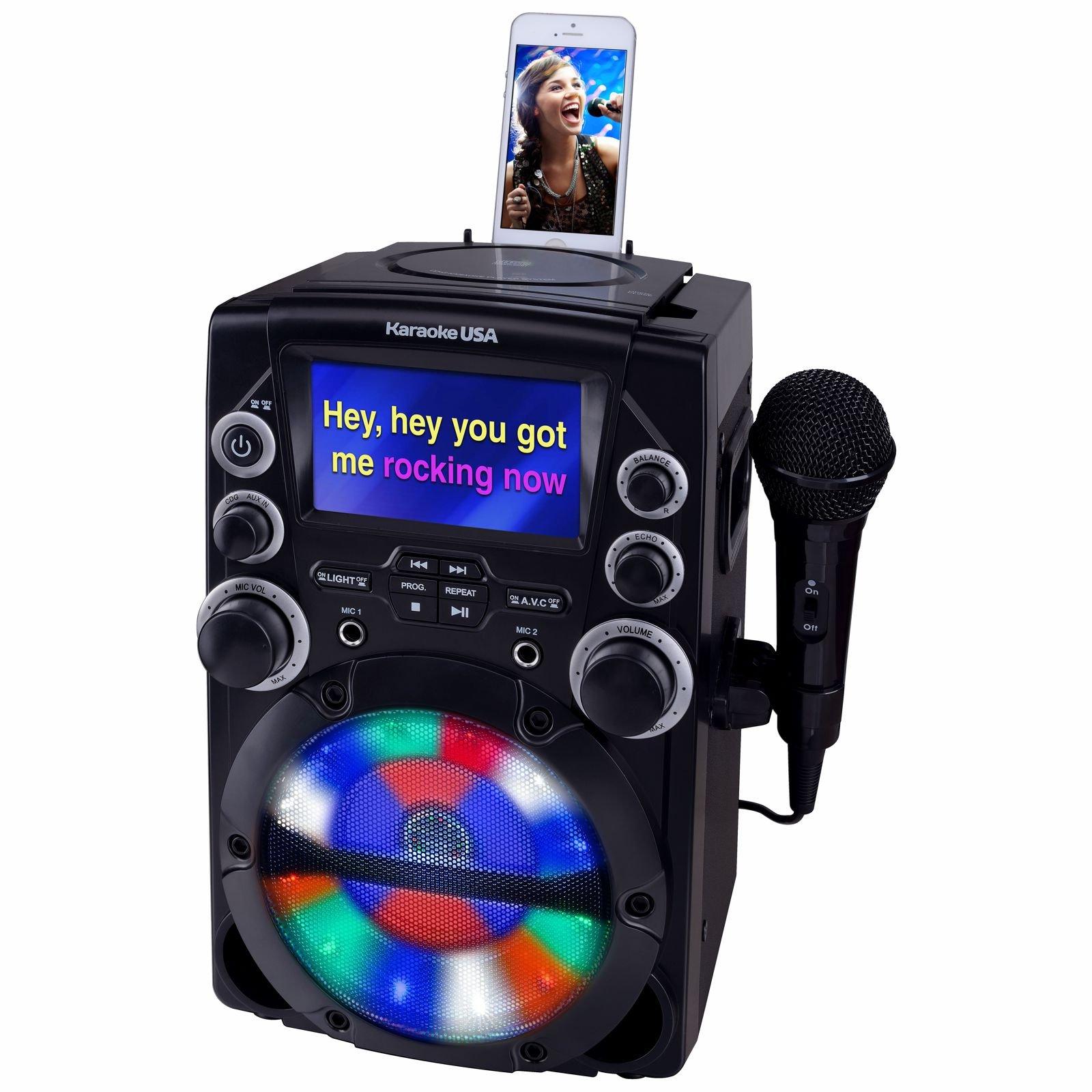 Karaoke USA GQ740 System Screen