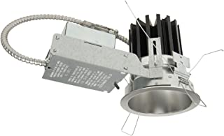Clear Portfolio LD6B20D010TR LD6B 6 Raw Finish Integrated LED Recessed Housing with Dimmer 2000 lms