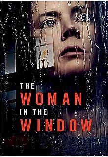 Dekorera gåvan Kvinnan i fönstretFilmaffisch Canvastavla Tryckt för vardagsrum Heminredning -50X70 CM Ingen ram