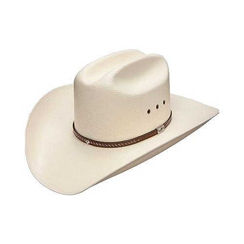 ab1b9cbca1537 Resistol Men s George Strait Hamilton 10X Shantung Straw Cowboy Hat