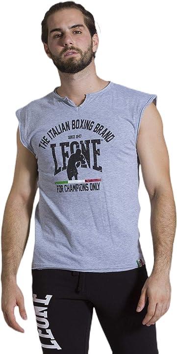 Canottiera uomo palestra - Leone 1947 sport fight activewear lsm749,