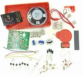 自作 DIY ラジオ AM 高感度 7石 スーパー ヘテロダイン 受信機 製作 キット HX108-2