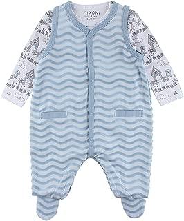 3-24 Monate PAUBOLI Baby-Strampler B/är lang/ärmlig