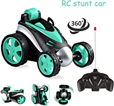 Cretoo Remote Control Car, RC Vehicle Four Wheel Stunt Car, 360°Rolling Rotation RC Car Vehicle Birthday Gift Stocking Filler for Boys Girls Hot Toys