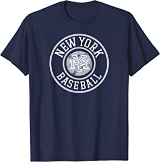 Cool NYC Vintage New York City Distressed Baseball T-Shirt