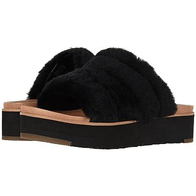 UGG Fluff Yeah Sandal (Black) Women