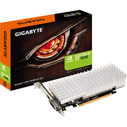 Gigabyte GV-N1030SL-2GL 2GB GDDR5 - Tarjeta gráfica (NVIDIA, GeForce GT