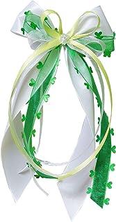 15 Antennenschleifen Autoschleifen Autoschmuck Heart Hochzeit in verschiedenen Farben erhältlich weiß/grün/hellgrün SCH0141