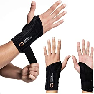 Copper Compression Wrist Brace – Guaranteed Highest Copper Content Support for..