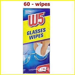 60 reinigingsdoekjes W5 Geschikt voor het reinigen van brillen, camera's, verrekijkers, autospiegels, helmvizieren, comput...