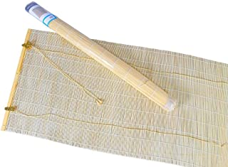 thesecrethome.es PERSIANA Estor BAMBÚ Enrollable 140x60cm | Color Hueso