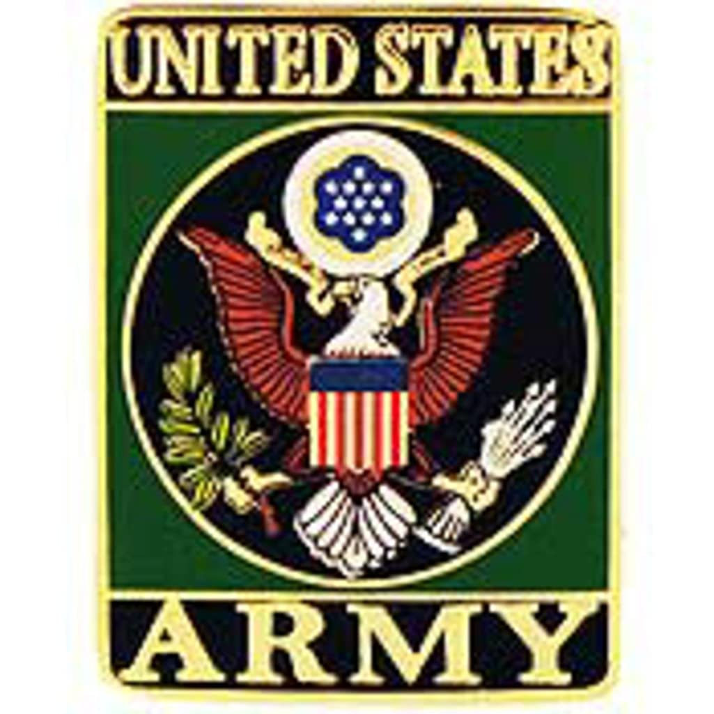 EagleEmblems P64017 Pin Symbol,United States Army (1.125'')
