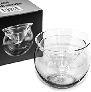 Glass Caviar Chiller Server Set - Up To 3 Serving – Universal Martini, Wine, Liquor Cocktail Chiller
