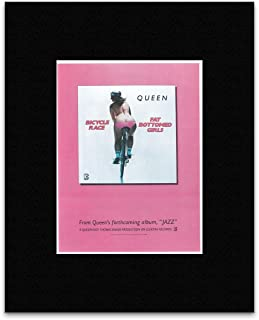 Stick It On Your Wall Queen - Bicycle Race 1978 Mini Poster - 19.1x14.4cm