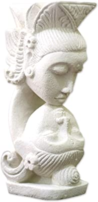 NOVICA Intimate Sandstone Sculpture