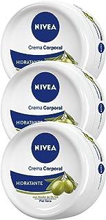 NIVEA Crema Corporal Aceite de Oliva 300ml - 3 unidades