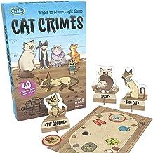 ThinkFun 1550 Cat Crimes Game Logic Games